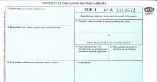 document invoice the declaration of origin on an invoice is gradually replacing eur 1