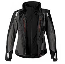 bmw streetguard classic motorcycle jacket for women anthracite