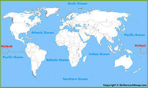 Image result for kiribati maps
