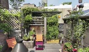 garden city ny apartments. Rachael Ray S New York Apartment Patio Garden Tour City Ny Apartments