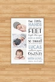 Birth Announcement Quotes Impressive Baby Boy Geboorte Aankondiging Twee Handjes Offerte Ontwerp Drie