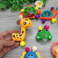 Túi đồ chơi Xúc Sắc 10 món đa màu sắc cho bé