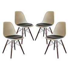 ray eames furniture. set of four dsw charles u0026 ray eames chairs 1 furniture r