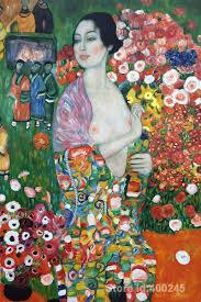 Opere d'arte di Gustav Klimt Die Tanzerin Il Dancer arte dipinti  riproduzione a mano di Alta Qualità|painting|painting artworkpainting venus  - AliExpress