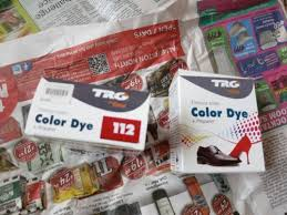 a quality dye for natural and synthetic leather suitable for shoes bags and textiles dyes on any colour even white on black colour dye has the