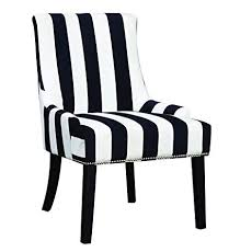 coaster transitional navy white armless accent chair