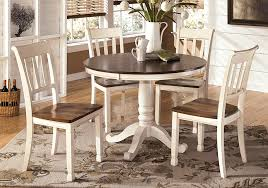 whitesburg 5pc round dining set