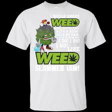 Weed Cannabis Marijuana G200 Gildan Ultra Cotton T Shirt