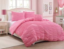 solid pink comforter twin