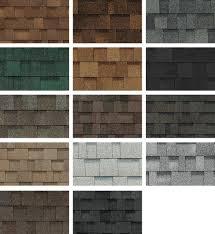 Oakridge Shingles Color Chart Owens Corning Architectural Shingles Colors I Installed An