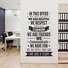 office wall stickers. In This Office Typography Sticker Wall Stickers U