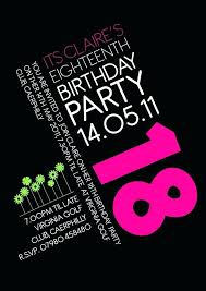 18th Birthday Invitations Templates Free Pin By On Birthday Party