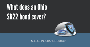 what does an ohio sr22 bond cover