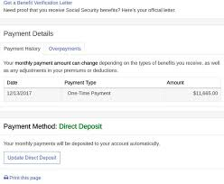 Social Security Direct Deposit Form Cool Registered At SSAGOV Good For You But Keep Your Guard Up Krebs