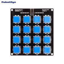 Nút Bàn Phím Mô Đun 4x4. Một Trong Những Analog Ra Ngoài. Kết Nối Đơn Giản  Với Tương Thích Cho Arduino, Quả Mâm Xôi, STM. raspberry analog arduino  analoganalog module - AliExpress