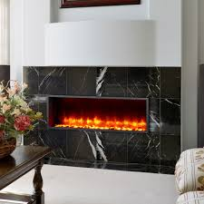dynasty dy bt44 44 built in led wall mount electric fireplace insert