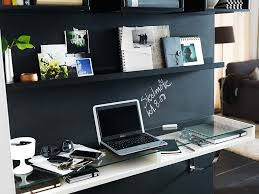 living room home office workspace.  office adorable contemporary dark home office workspace area with bookshelves led  lighting hardwood floors fur rug  and living room