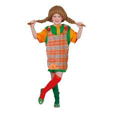 Costume Pippi Calzelunghe Bimba