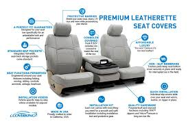 universalcoverking leatherette custom seat covers