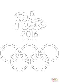 Rio 2016 Olympische Spelen Kleurplaat Gratis Kleurplaten Printen