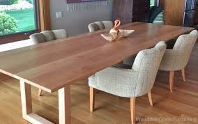 solid wood dining table. Solid Wood Contemporary Dining Table Woodland Creek Furniture