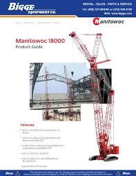 Manitowoc 2250 Load Chart Manitowoc 18000 Crane Chart