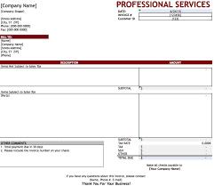 professional services invoice template excel pdf word professional services invoice template excel pdf word doc