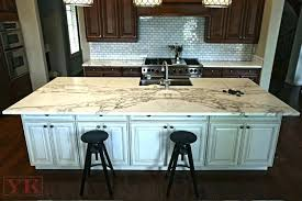 calacatta marble countertops kitchen island and perimeter formica calacatta marble countertops