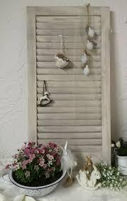 Fensterladen Shabby Chic Mit Herz Unikat Palettenholz