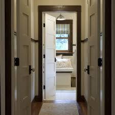 white door with dark trim door trim design ideas pictures remodel and decor page 3