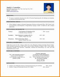 5 Applicant Resume Sample Filipino Simple Driver Resume