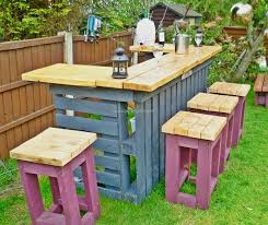 garden furniture from pallets. table pallets garden stools furniture from