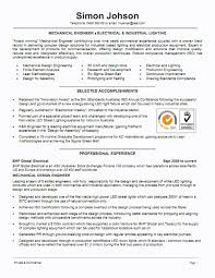 Example Resume Templ Spectacular Mechanical Engineering Resume