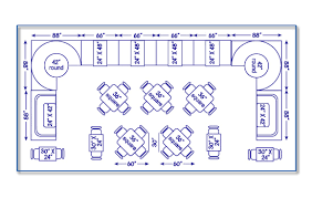 Restaurant Seating Chart Design Guide Dining Table