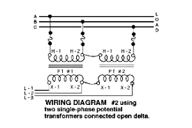 aac ecf ec a cd gif n  typical wiring diagrams for three phase potential transformer situations