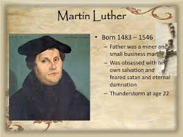 Ppt Martin Luther The Reformation Powerpoint Presentation Id