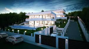 ... Luxury Modern Villas For Sale In Spain Modern Luxury Villa Floor Plans Modern  Luxury Villa For ...