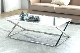decoration silver coffee table round tray chest sets