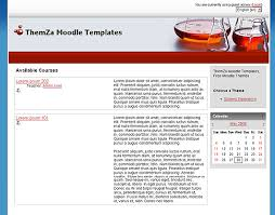 moodle templates free moodle themes power of science by themza