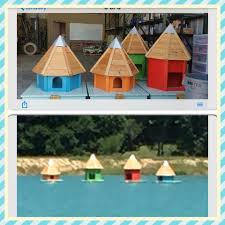 Duck House Design Plans Pond Decor Floating Duck House Chickens Duck House
