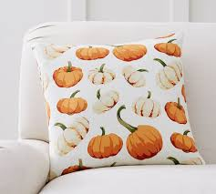 Pottery Barn SCATTERED PUMPKIN PILLOW COVER Pottery Barn Pillows Sale