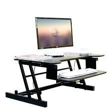 computer stand for desk stand up computer desk australia
