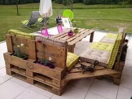 pallet outdoor furniture. upcycled pallet garden furniture outdoor d