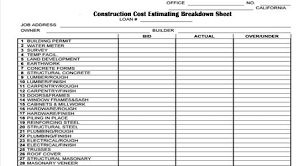 Home Construction Estimator Excel Pin By Angie Brooks On Construction Forms In 2019 Building
