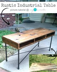 industrial furniture legs. Industrial Desk Legs Learn To Make Your Own Beautiful Rustic Table With Reclaimed Furniture S