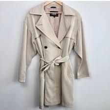 Utex Design Long Coat Soft And Flattering Trench Coat From Utex Design In Depop