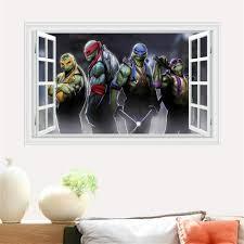 Ninja Turtle Bedroom Decor Ninja Turtle Stickers Promotion Shop For Promotional Ninja Turtle