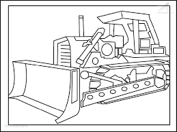 Jcb Digger Coloring Pages Kids Get Coloring Pages