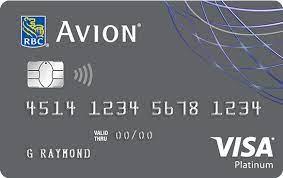 rbc avion visa platinum credit card