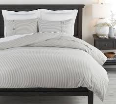 gray wheaton stripe cotton patterned